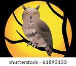 abstract halloween wallpaper... | Shutterstock .eps vector #61893133