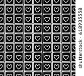 seamless vector pattern. black... | Shutterstock .eps vector #618935558