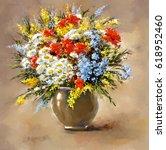 Oil Digital Paintings  Still...