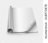 blank book vector | Shutterstock .eps vector #618972878