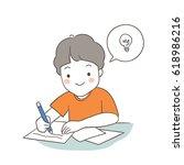 hand draw character design a... | Shutterstock .eps vector #618986216