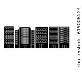 cityscape buildings isolated