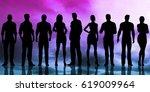business people success... | Shutterstock . vector #619009964