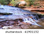 zion subway waterfalls | Shutterstock . vector #61901152
