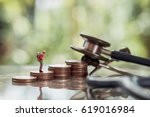 health and travel insurance ... | Shutterstock . vector #619016984