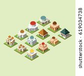 mosque 3d design vector....   Shutterstock .eps vector #619034738