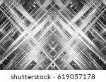 abstract illustration grey... | Shutterstock . vector #619057178