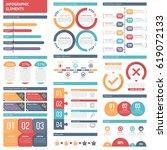 infographic elements   bar...