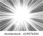 radial lines with substrate of... | Shutterstock .eps vector #619076354