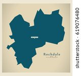 rochdale borough greater... | Shutterstock .eps vector #619076480