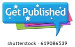 get published colorful comments ... | Shutterstock . vector #619086539