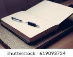 adress book | Shutterstock . vector #619093724