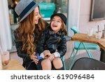 portrait happy loving family ...   Shutterstock . vector #619096484