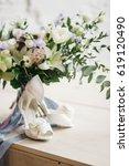 Beautiful White Bridal Shoes...