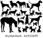 dogs | Shutterstock . vector #61913359