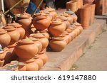 earthenware | Shutterstock . vector #619147880