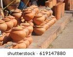 earthenware | Shutterstock . vector #619147880