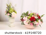 arrangement of various colors... | Shutterstock . vector #619148720