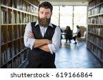 masculine modern executive... | Shutterstock . vector #619166864