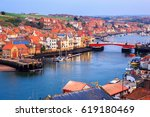 View Of Whitby Harbour In...