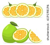 abstract vector illustration... | Shutterstock .eps vector #619198196