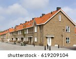 residential district with...   Shutterstock . vector #619209104