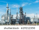 oil and gas industry refinery... | Shutterstock . vector #619212350