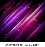 abstract lights purple... | Shutterstock .eps vector #61921354