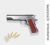gun vector illustration | Shutterstock .eps vector #619243598