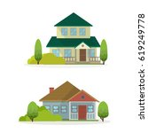 home vector illustration | Shutterstock .eps vector #619249778