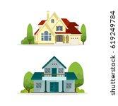 home vector illustration | Shutterstock .eps vector #619249784