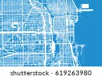 urban vector city map of... | Shutterstock .eps vector #619263980