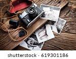 Old Rangefinder Camera And...