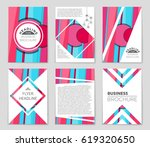 abstract vector layout... | Shutterstock .eps vector #619320650