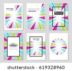 abstract vector layout... | Shutterstock .eps vector #619328960