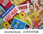 bracknell  england   april 11 ... | Shutterstock . vector #619345508