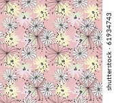floral seamless pattern | Shutterstock .eps vector #61934743