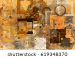 abstract grunge   rough ... | Shutterstock . vector #619348370