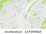 urban vector city map of... | Shutterstock .eps vector #619349864