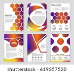 abstract vector layout... | Shutterstock .eps vector #619357520