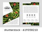 abstract vector layout... | Shutterstock .eps vector #619358210