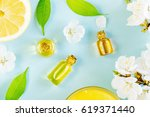 spring aromatherapy with citrus ...   Shutterstock . vector #619371440