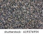 dark grey gravel texture | Shutterstock . vector #619376954