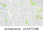 urban city map of salt lake... | Shutterstock . vector #619377188