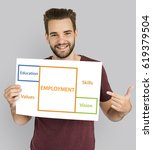 Small photo of Employment Occupations Career Ability Potential Word