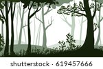 vector isolated illustration of ... | Shutterstock .eps vector #619457666