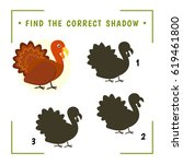 find the correct shadow.... | Shutterstock .eps vector #619461800