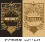 set of 2 labels | Shutterstock .eps vector #619471196