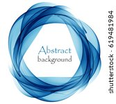 abstract background with blue... | Shutterstock .eps vector #619481984