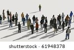 group with leader | Shutterstock . vector #61948378